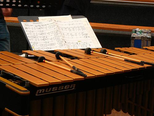 Marimba y vibráfono